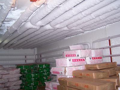 华南海鲜水产市场速冻库/冷藏库已交付使用